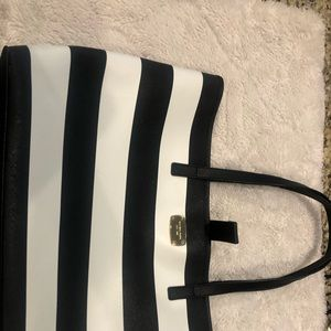 Michael Kors black and white purse / tote